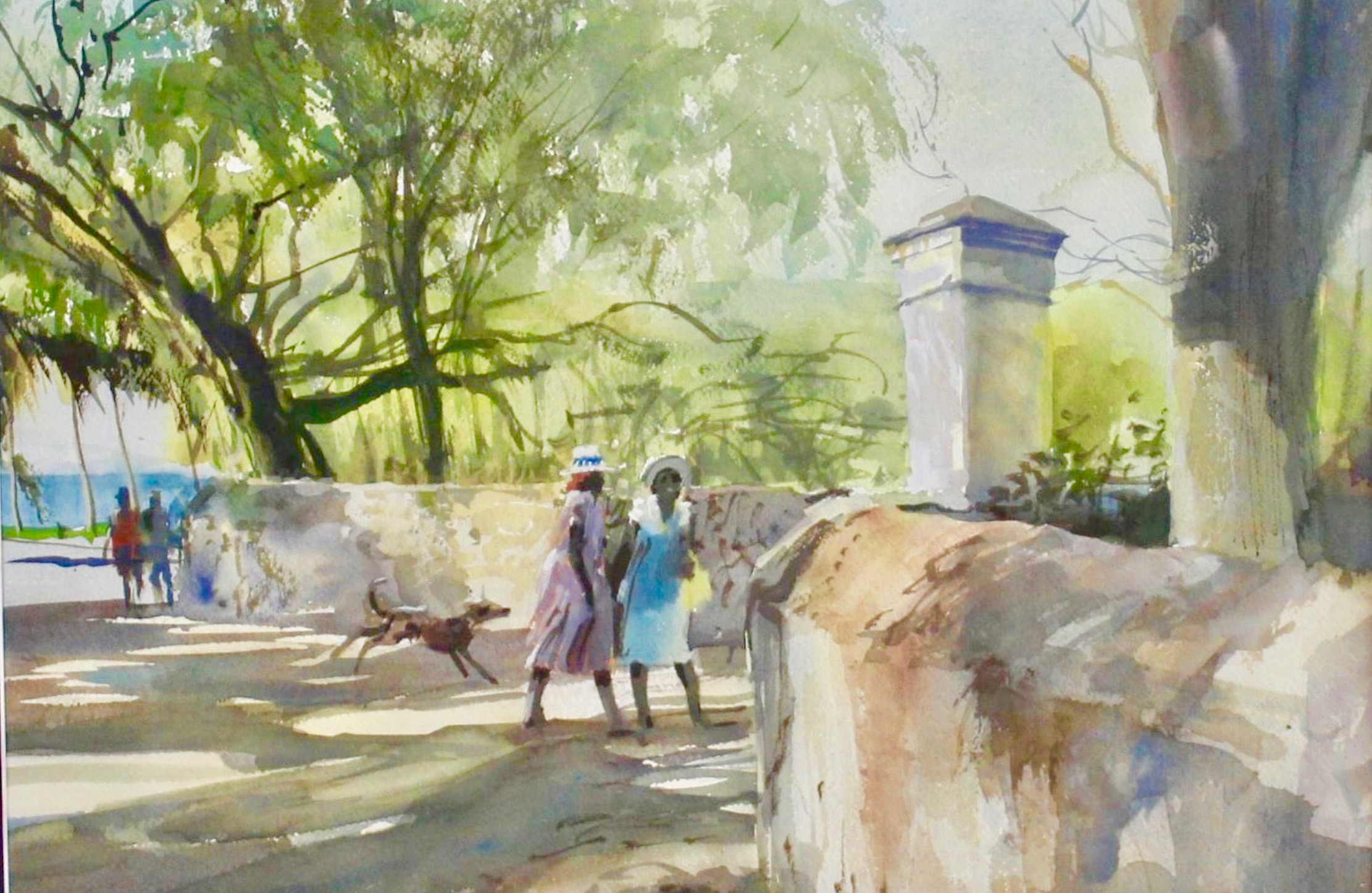 Charles Hawes painting of US Virgin Islands