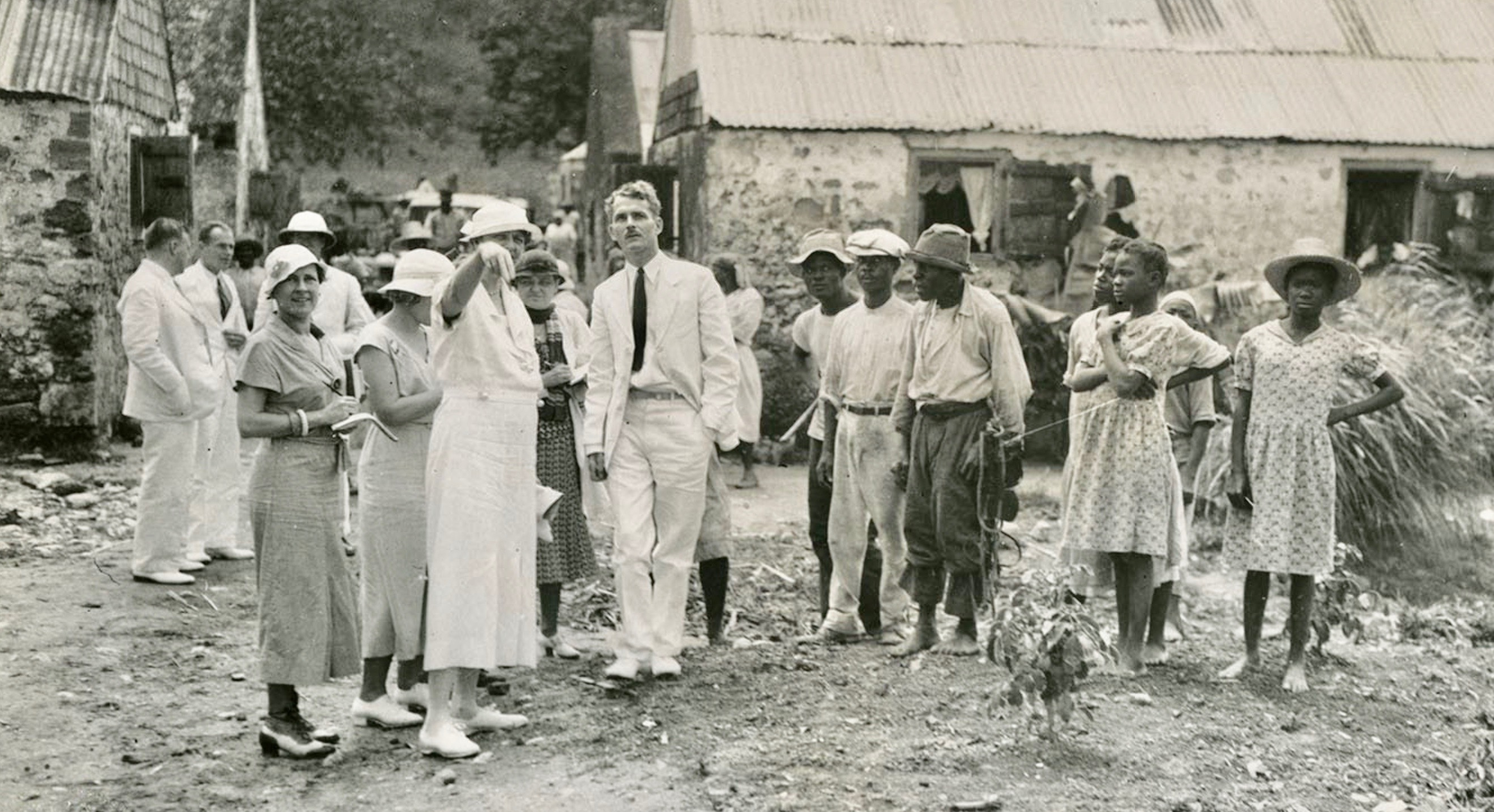 First Lady, Eleanor Roosevelt visits the US Virgin Islands in 1934 by Valerie Sims