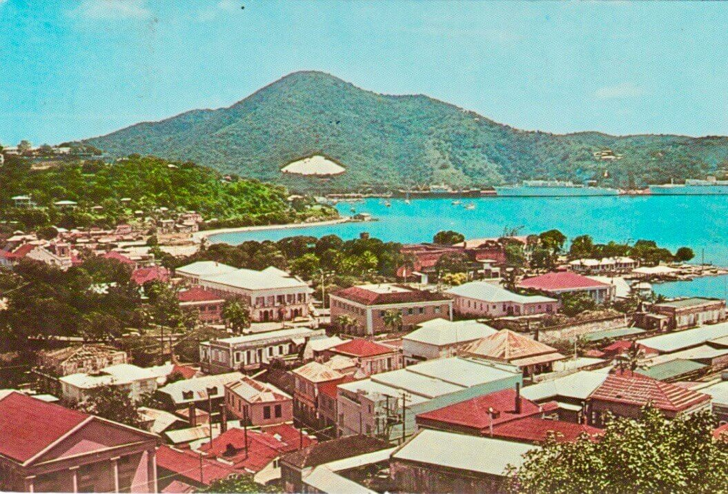 St Thomas, US Virgin Islands postcard