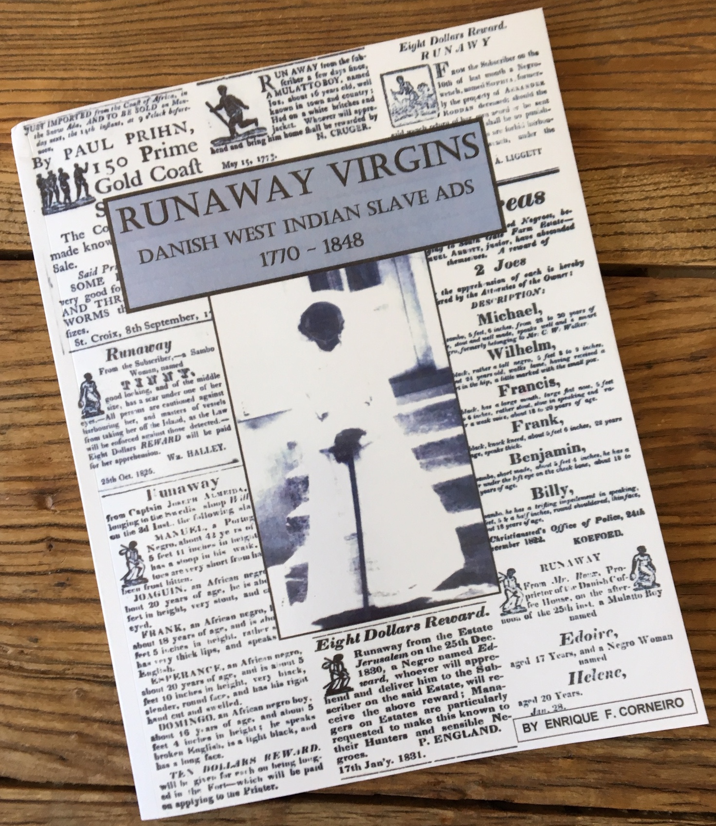 Runaway Virgins New Book by Enrique Corneiro, US Virgin Islands, Danish West Indies