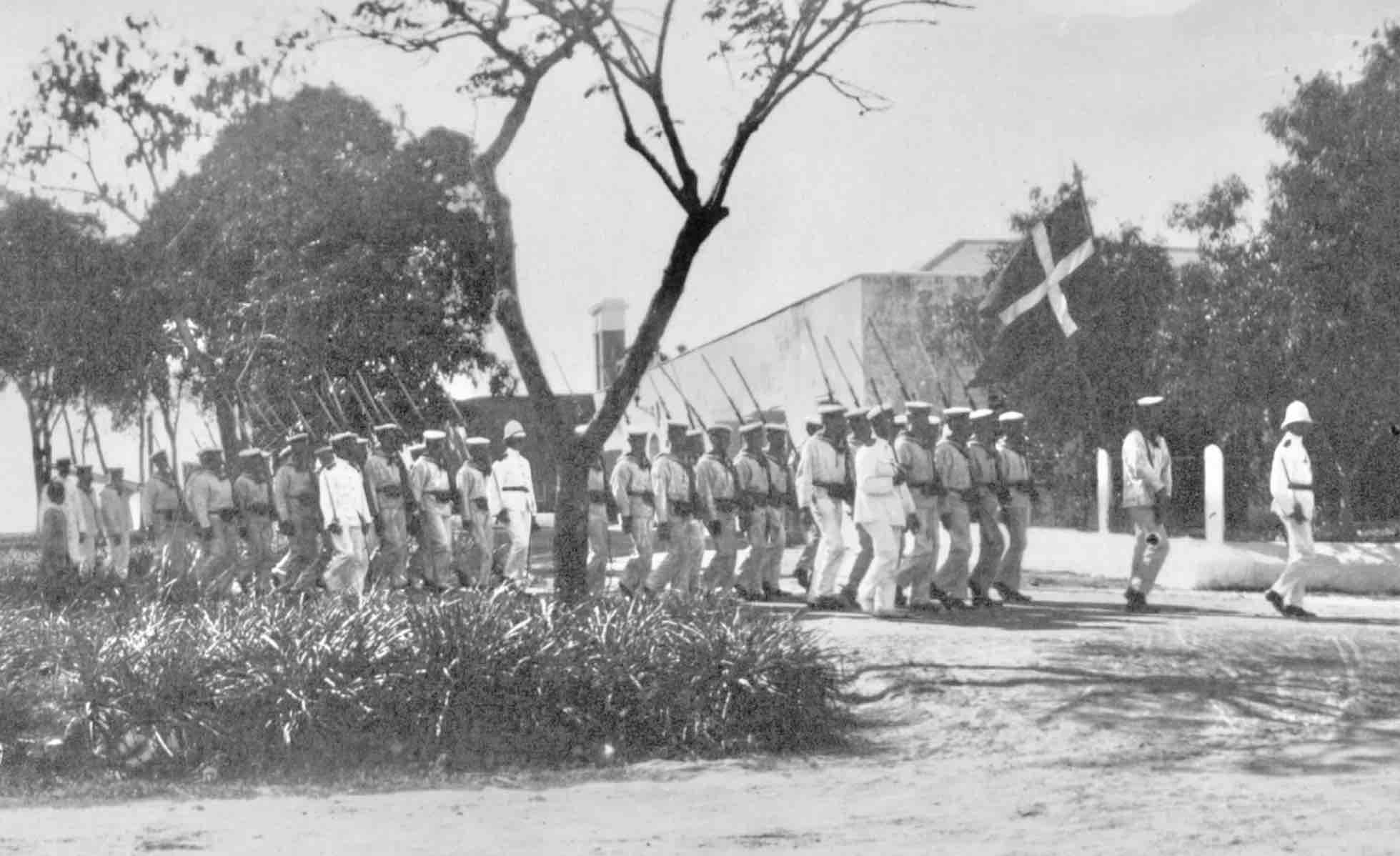 Valkyrien's Band in Frederiksted, St. Croix, Danish West Indies