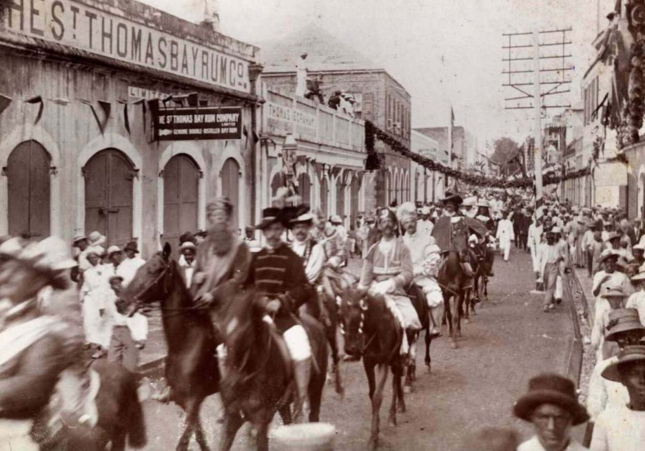 1912 Carnival in St. Thomas, DAnish West Indies