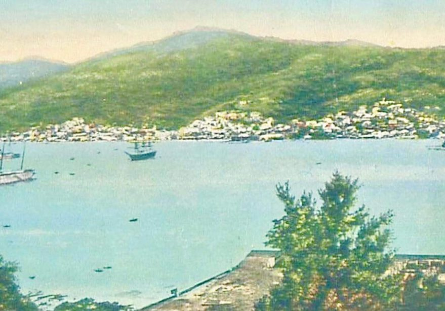 St. Thomas harbor, Danish West Indies