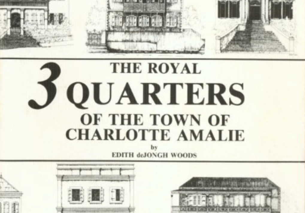 Royal Three Quarters of Charlotte Amalie by Edith deJongh Woods