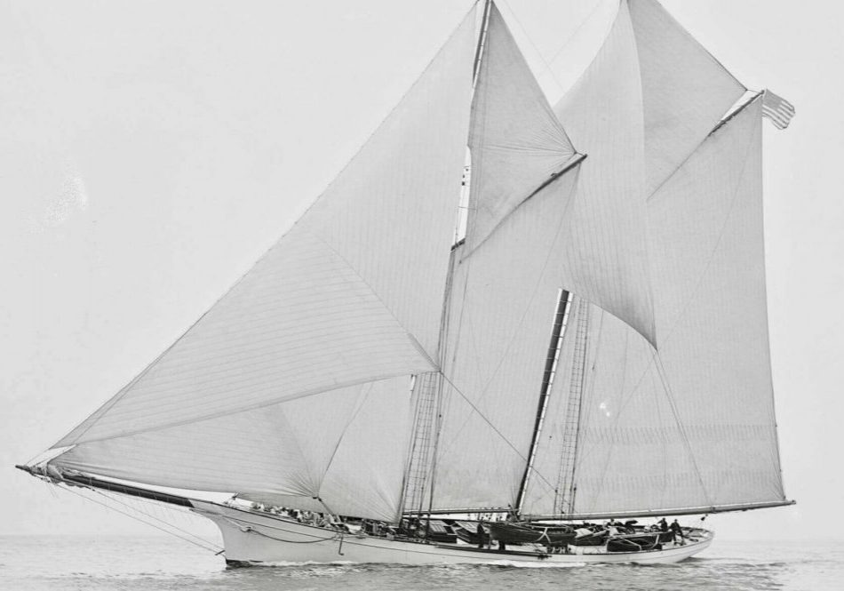 Schooner, Gitana visits the Virgin Islands